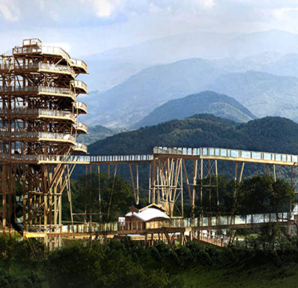 Wieża widokowa na Słotwinach